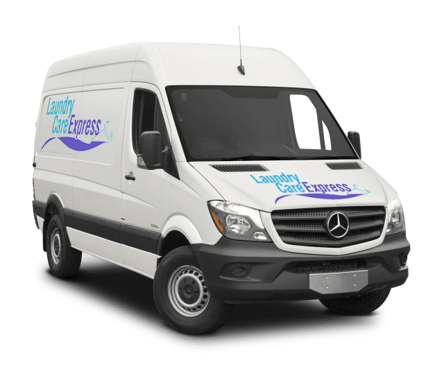 Laundry Care Express van